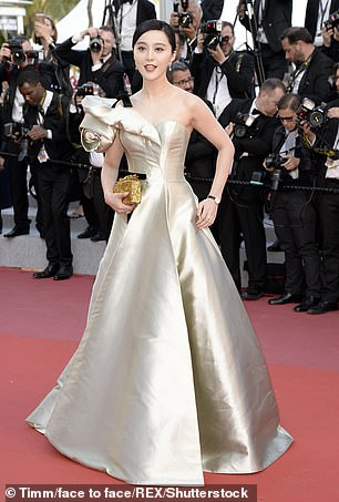 She disappeared from the public eye last May after allegations emerged that she evaded taxes on a lucrative film shoot