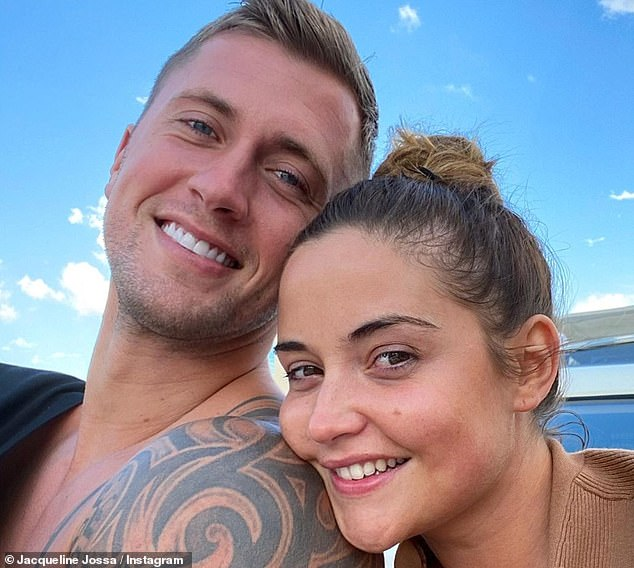 Lower the foot: Jacqueline Jossa has `` issued a last-chance ultimatum to her husband Dan Osborne in the midst of their marital misfortunes, '' we learned on Friday.