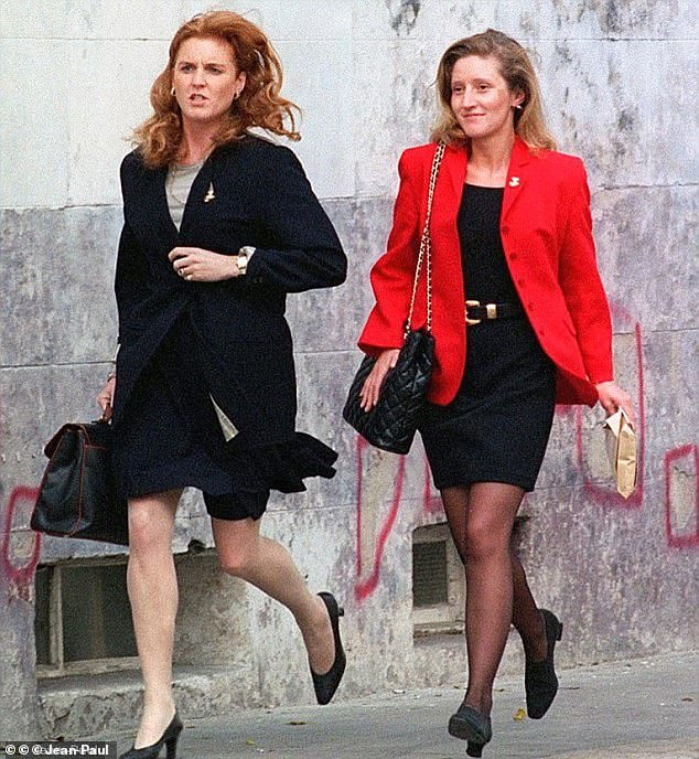 I hear that Fiona Bruce is lined up to present a programme about Fergie's former dresser, Jane Andrews (pictured with the duchess), who killed her boyfriend, the banker Thomas Cressman, at their home in Fulham after he refused to marry her