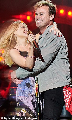 Kylie Minogue sends 'big love' to Jason Donovan as their single Especially For You turns 32