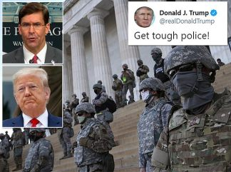 Pentagon Chief Mark Esper's Future is in Jeopardy After he Publicly Tells President Trump Not to Use Insurrection Act and Withdraws Active-duty Troops From Washington D.C. – as White House Refuses to Say his Job is Safe