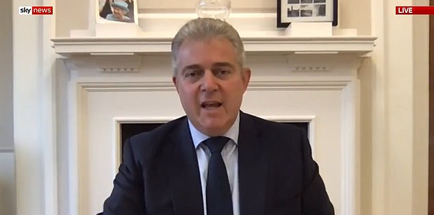 Northern Ireland Secretary Brandon Lewis defended the plans in a round of interviews this morning, saying it was the 'right time to do it'