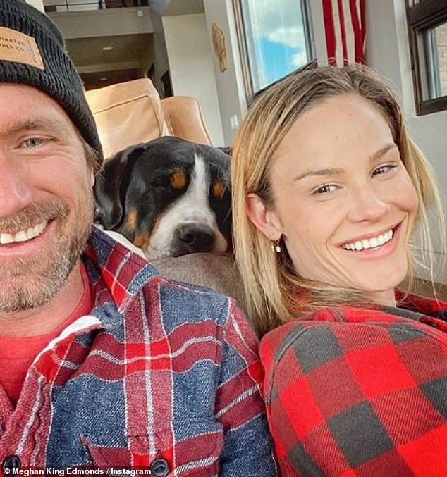 New relationships:Since their split both Meghan and Jim have moved on to new relationships. Edmonds is now dating Kortnie O'Connor and King is romancing Christian Schauf, above