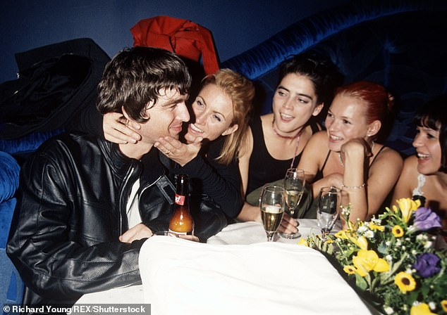 Binges: Meg, pictured in 1998, said she would regularly get trashed at the exclusive London hotel Claridge's