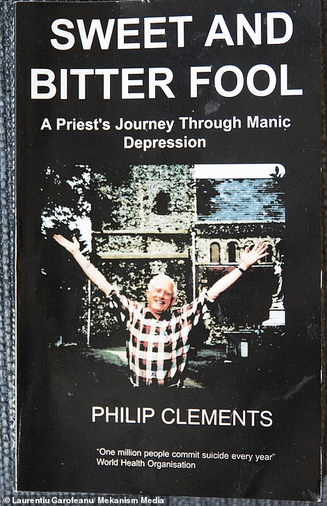 A book Mr Clements wrote on his battle with depression
