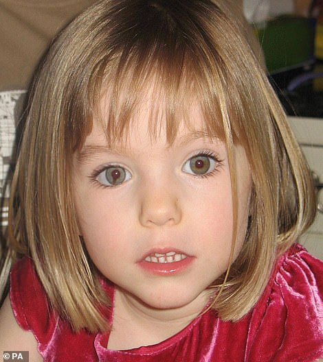 Madeleine, who disappeared from the seaside resort of Praia da Luz in Portugal in May 2007, while on vacation with her family