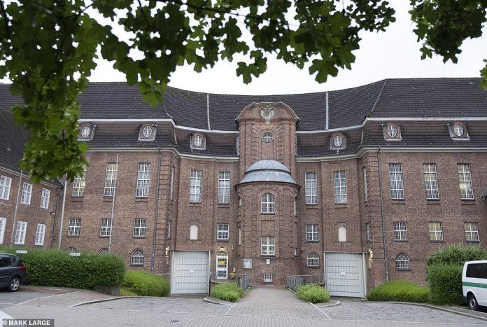 Justizvollzugsanstalt Kiel in northern Germany where Brueckner is currently detained