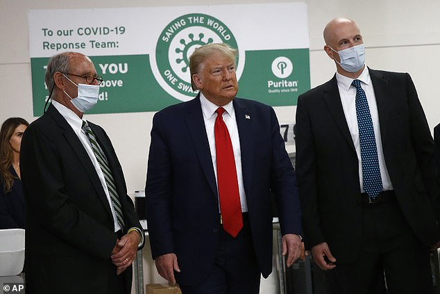 The poll also found Trump's (on June 5) job approval rating fell to its lowest point in two years and that 46 per cent of Americans polled disapproved of his coronavirus pandemic handling