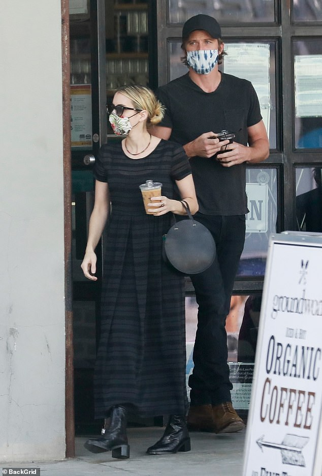 Emma Roberts Puts On A Chic Display As She Steps Out For Breakfast With Boyfriend Garrett Hedlund 247 News Around The World