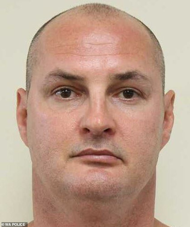 Shawn Adam Newton (pictured) was sentenced to life in prison in Perth's Supreme Court on Tuesday over the July 2017 murder
