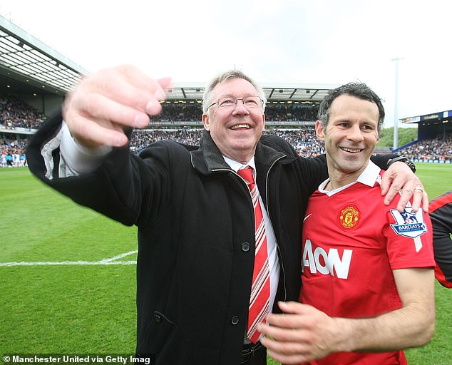 Giggs had a brilliant career at Old Trafford, playing 963 times between 1991 and 2014