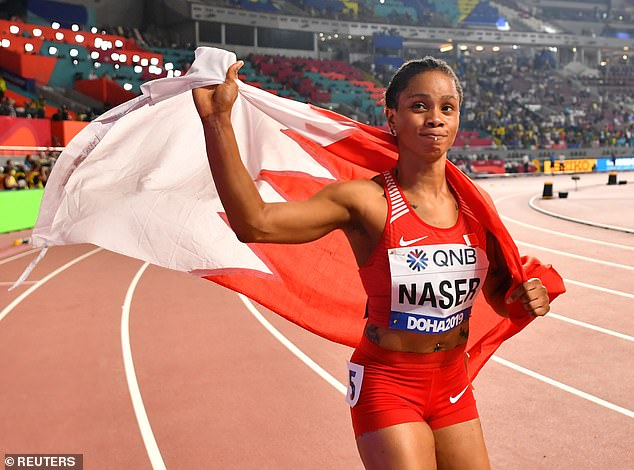 Salwa Eid Naser missed three drug tests before the 2019 World Championships and one since