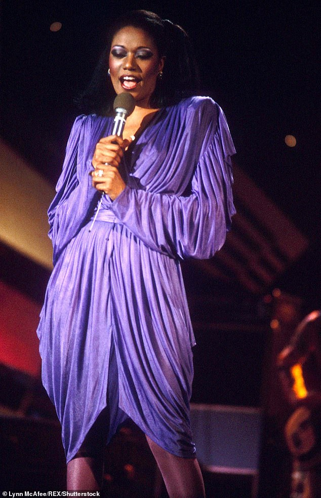 Still on stage: in the 1990s and 2000s, she performed in Las Vegas and Atlantic City.  Seen in 1980