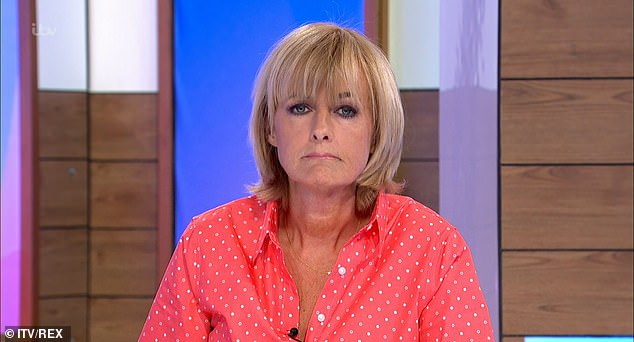 Support: Loose Women Jane congratulated Kate on her remarkable strength hours earlier on her ITV show