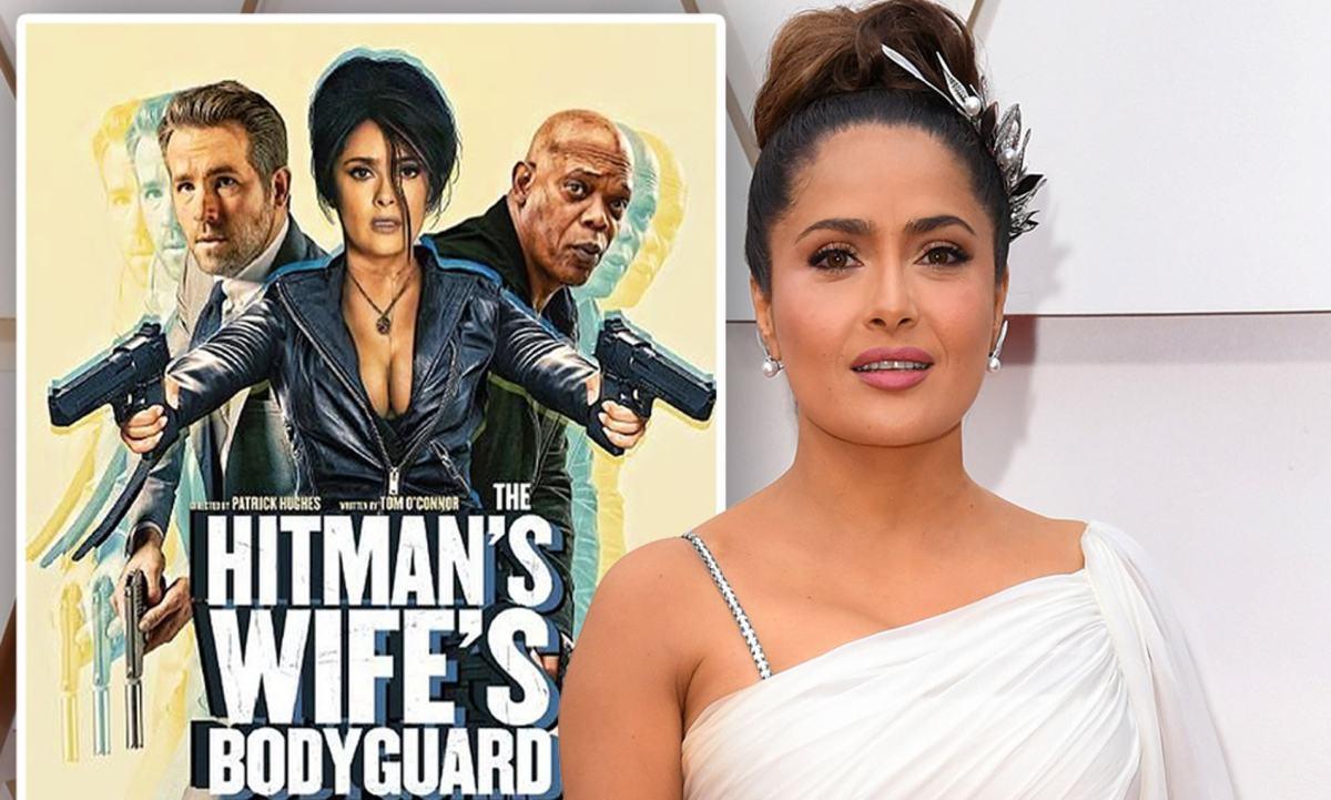 Salma Hayek Says She Practiced Swear Words For Role In Hitman's Wife's Bodyguard