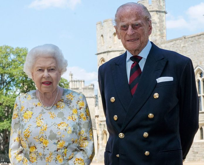 Buckingham Palace revealed that the Queen's official birthday (pictured with the Duke of Edinburgh) will see the moarch receive two royal greetings from the Welsh Guards on Saturday