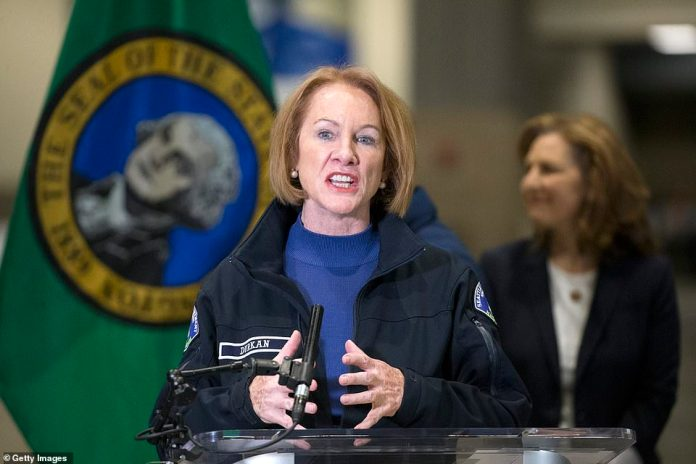 Seattle Mayor Jenny Durkan (pictured) criticized for handling civil unrest in the city, and calls for resignation are mounting