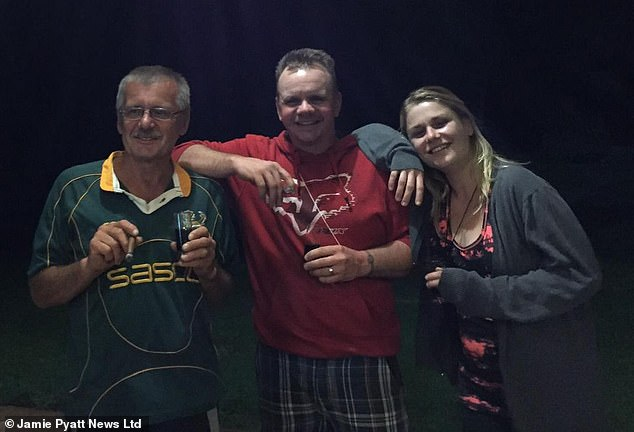 Eduard's son Tommy, pictured about with his father and sister, said: 'Killings like this need to stop right now and I don't want anyone else going through what we are going through and more has to be done to keep farmers and those on these smallholdings safe'