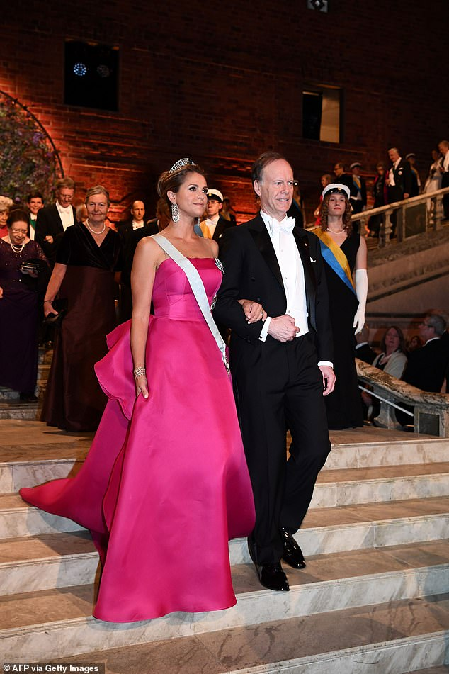 The royal, who lives in Miami, Florida, last appeared in public in Sweden as she attended her family hosted the Nobel Prize laureates in December 2019