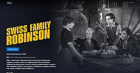 Swiss Family Robinson is broadcast on Disney + with a warning