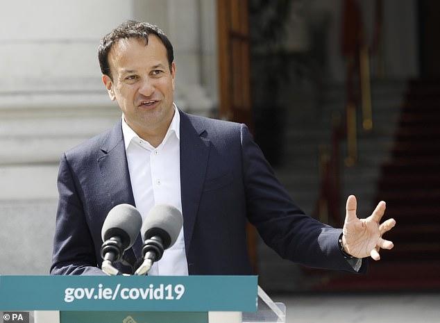 Irish Prime Minister Leo Varadkar criticized Kinahan's involvement in the Fury-Joshua deal