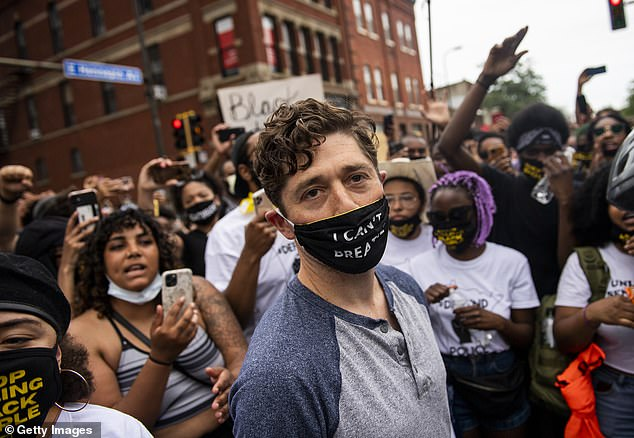 Minneapolis Mayor Jacob Frey, pictured, does not support the disbanding of the police department but has called for a different kind of reform to improve accountabilit