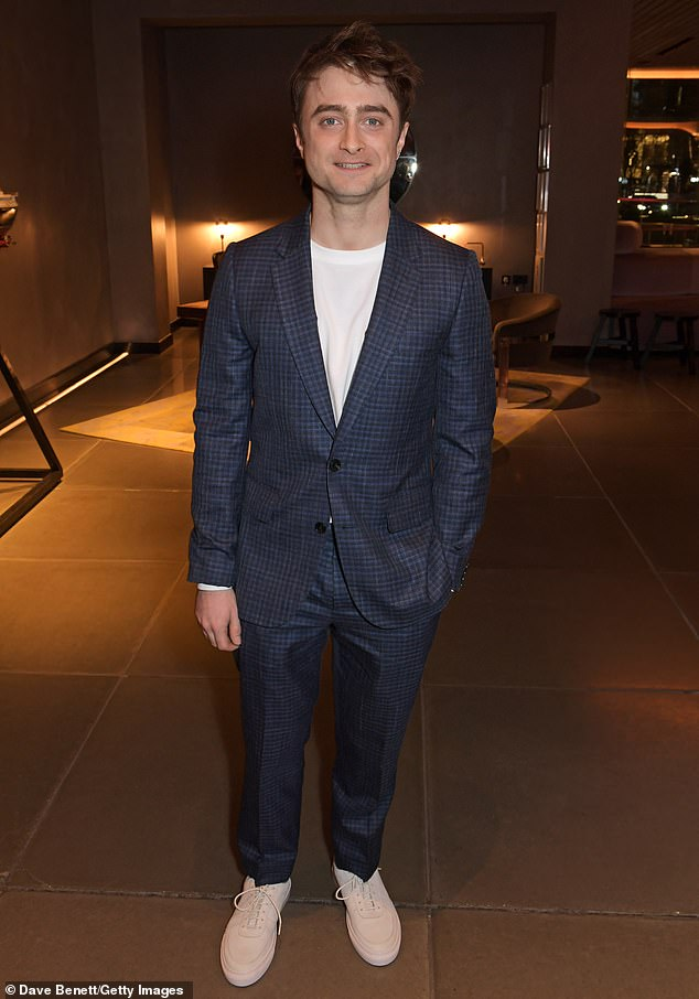 Statement: In response to his remarks, Daniel wrote a heartfelt article for The Trevor Project, a nonprofit dedicated to preventing suicide among LGBTQ + youth (pictured in February)