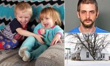 Tragic: Father 'Stabbed his Two Children, Aged 3 and 5, to Death while They Slept After he Broke in when Their Mother Tried to Ban him From Visiting' During Bitter Custody Battle