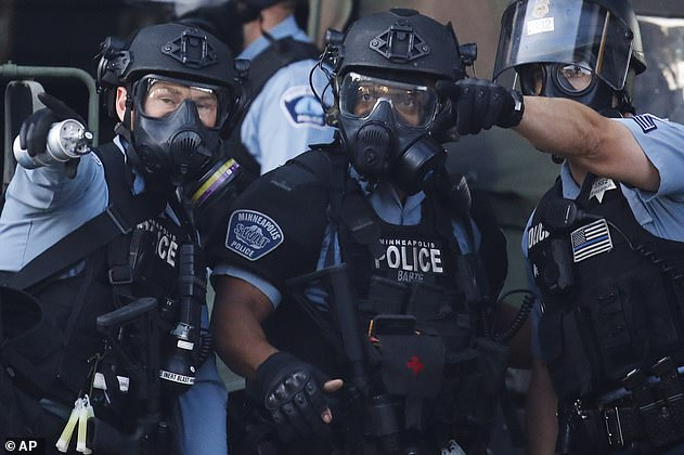 The Minneapolis City Council on Friday voted for the city's police department, pictured, to be replaced with a community-led public safety system