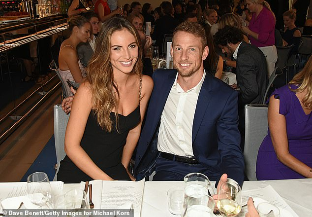 Happy: Brittny and Jenson got engaged in June 2018 after two years of dating. Their second wedding was thought to be taking place on July 10, 2020, in Lake Como