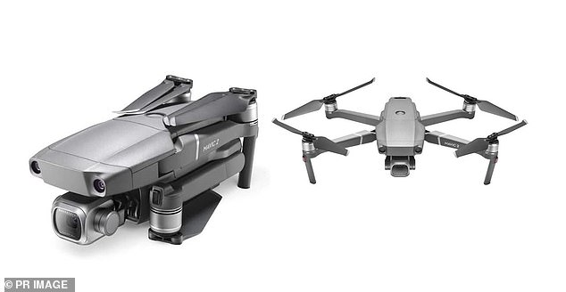 A drone similar to the one that remains missing