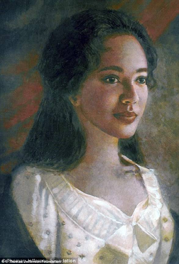No known portraits of Sally Hemings exist, but the one above is based on descriptions of her appearance