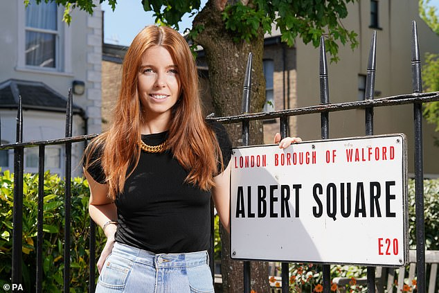 New show: instead of its episodes of Monday and Tuesday, a series called Secrets From The Square, hosted by Stacey Dooley, was broadcast