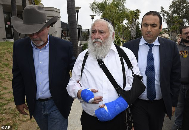 Brady is representing victims and survivors. Rabbi Yisroel Goldstein lost a finger in the attack.The plaintiffs say if Smith & Wesson were to promptly agree to the safe, responsible actions, they would 'drop the lawsuit against them tomorrow'