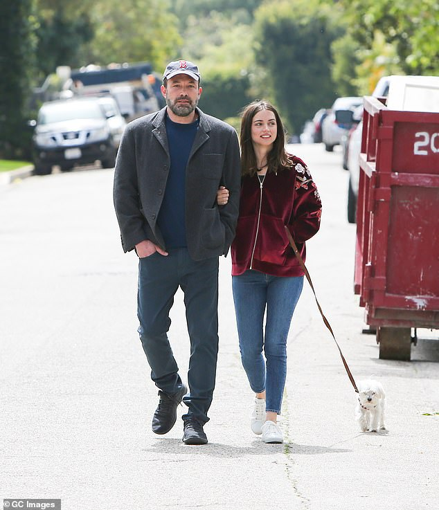 Meet The People: The Motorcycle Ride Comes To Us After Reports Appeared That Affleck Introduced His New Girlfriend To His Mother During Their Weekend Trip To Georgia With Her Children