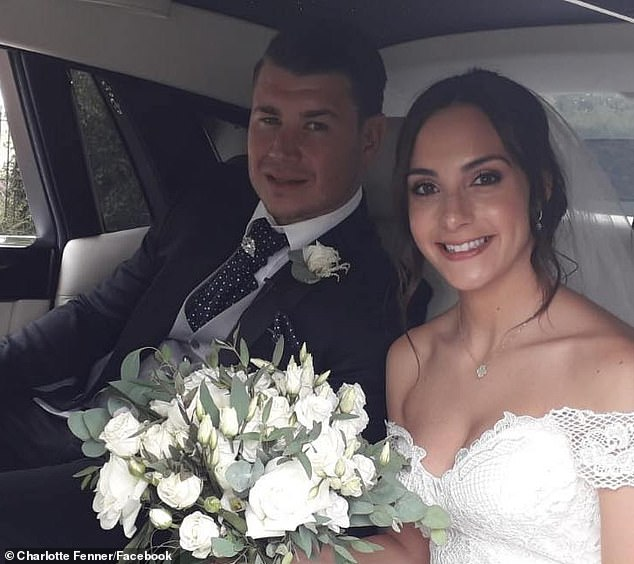 Dumped: The Love of Star Island, 26, separated in ways with Harry Fenner, 30, after discovering that he was married, after tying the knot with his wife Charlotte, in July 2019 (see photo )