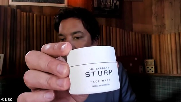 Face mask: talk show host showed viewers the Goop face mask he liked