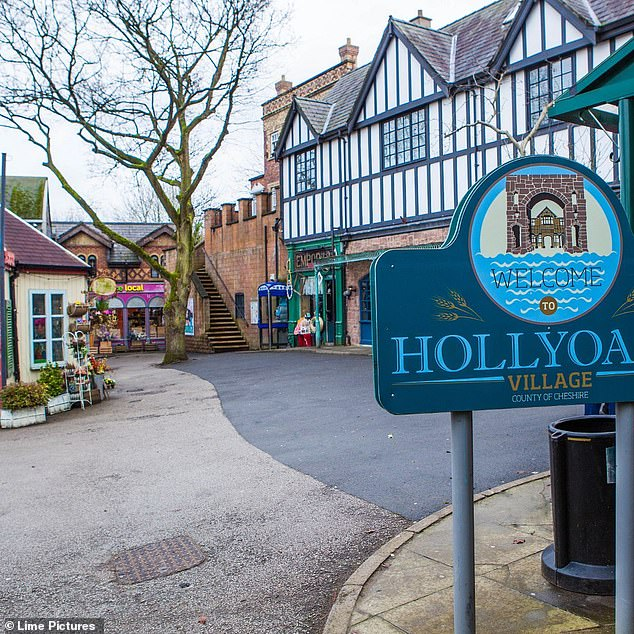 Exciting:Bryan's departure comes just days before Hollyoaks returns to screens on Monday, September 7 following a three-month break