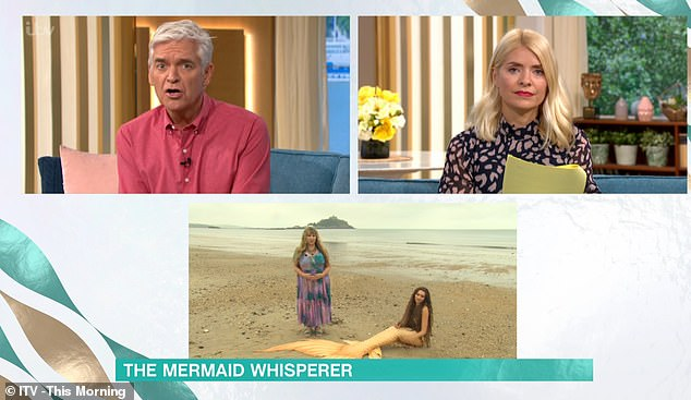 Karen Kay, appeared on This Morning with hosts Philip Schofield and Holly Willoughby and claimed that she was able to telepathically communicate with sirens