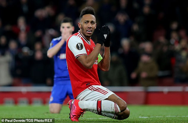 Failure to qualify for Europe could see assets like Pierre-Emerick Aubameyang leave the club