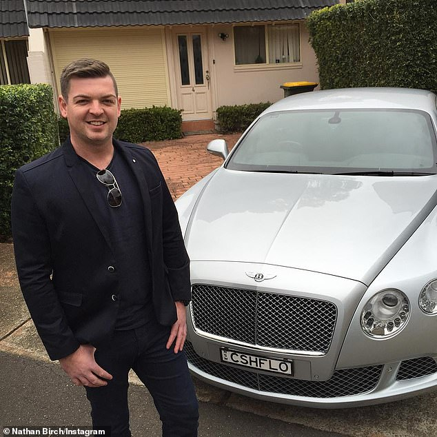 Nathan Birch, 35, who claims to have a $55 million portfolio of more than 200 homes, runs property investment firm Binvested - but not all his clients are satisfied