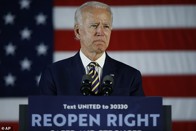 When Biden looks at the treatment of minorities, 53% think he respects minorities, compared to 35% for Trumpet