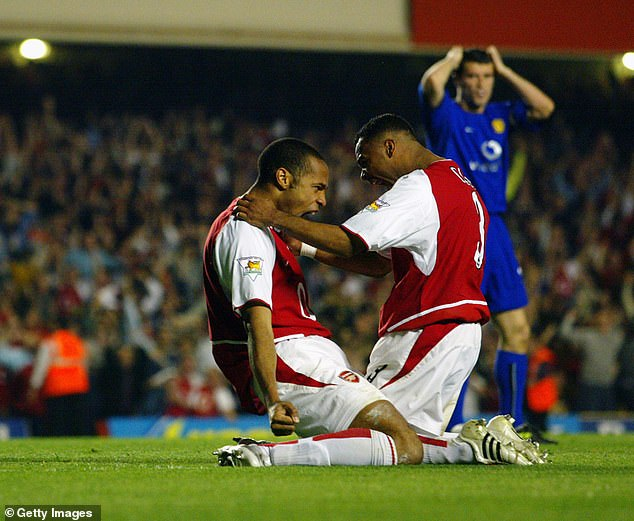 The captivating 2-2 draw with Arsenal, with Manchester United of Sir Alex Ferguson in 2003 is third