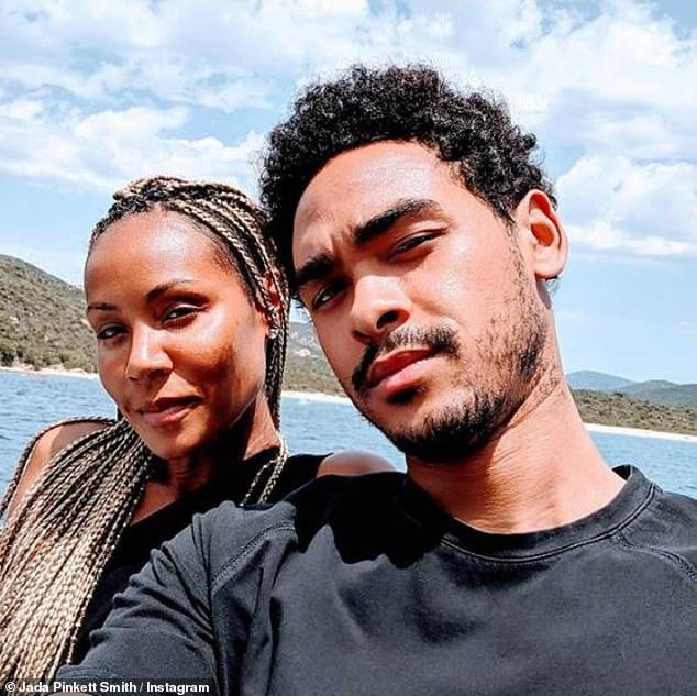 Fin heureuse: Au cours de leur conversation, Sheree a félicité Jada pour sa relation avec Trey et a dit `` Merci d'aimer mon bébé ... Je vais vous dire que, de ce côté des choses, mon fils ne pouvait pas avoir une meilleure maman bonus ''