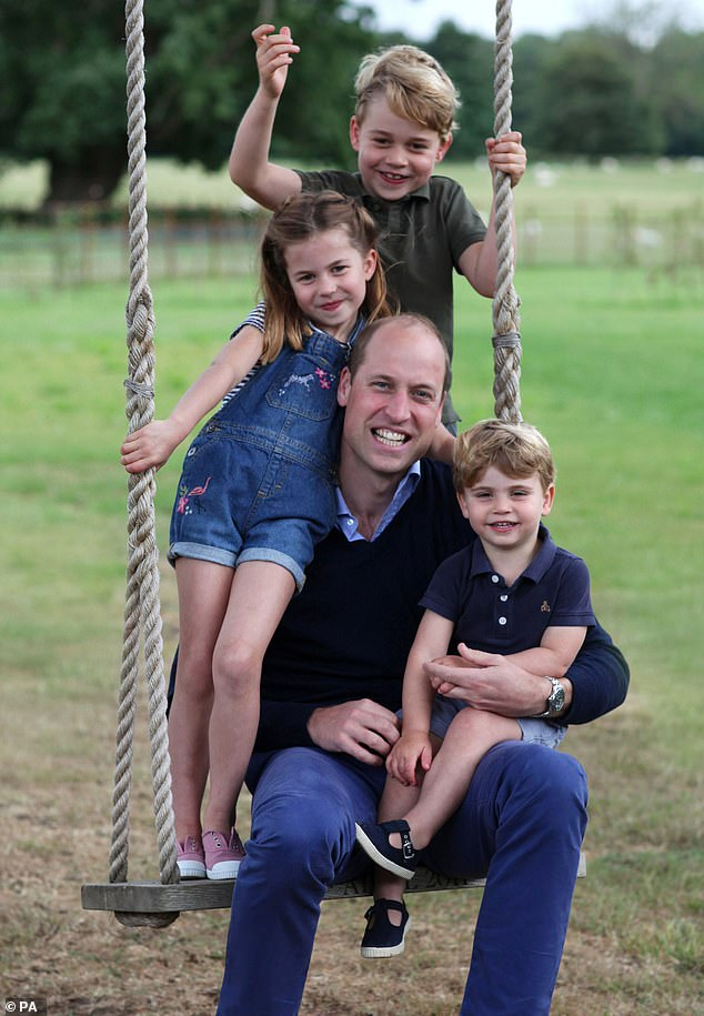 The Duchess of Cambridge, 38, an avid and talented photographer, took this picture on Friday because of their Norfolk country home, Anmer Hall, on the occasion of Prince William's birthday