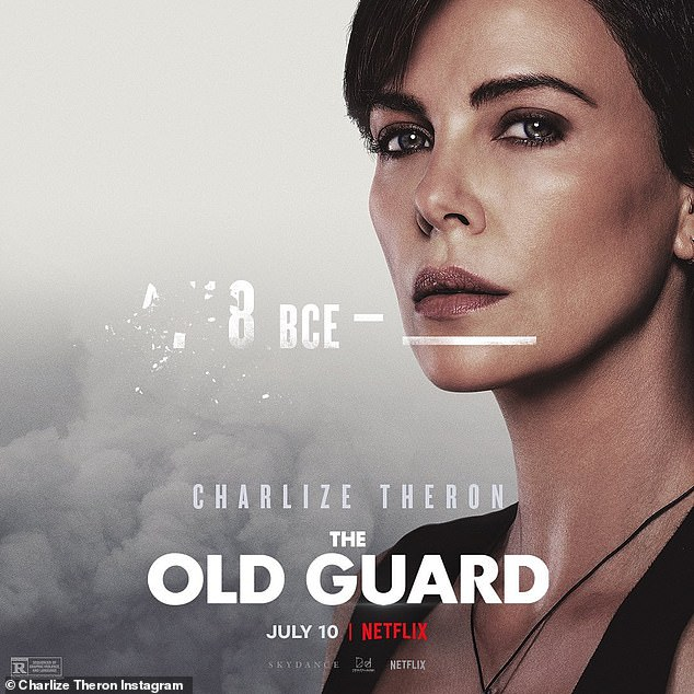 The Old Guard:Aside from her personal life, Charlize is currently anticipating the release of her Netflix superhero film The Old Guard
