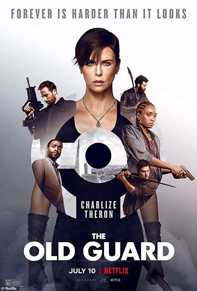 Incoming:'Andromache the Scythian, but you can call her Andy. Nile Freeman, but you can call her...Nile. Comin at ya on Netflix July 10,' wrote Charlize, who shared the poster for her film to Instagram on Thursday