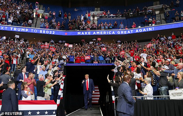 Donald Trump told the crowd at his return to rally, on Saturday evening, he said his administration, in order to slow down the tests so that the number of confirmed cases would be lowered