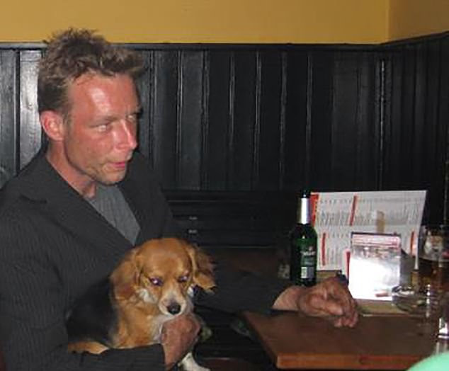 Michael Tatschl (not pictured), a close friend and former cellmate of Madeline McCann suspect Christian Brueckner (pictured with dog) claims the German was responsible for the toddler's disappearance