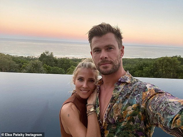 Living the life: Elsa and her husband, Thor star Chris Hemsworth, relocated from Hollywood to Byron Bay in 2014. Speaking about the move to Vogue, she said: 'I feel Hollywood consumes you... you don't even realise but when you get out, it changes everything'
